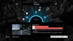 Watch Dogs 2D visuals & Game UI