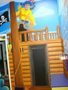 Pirate room Children's Dentistry.
