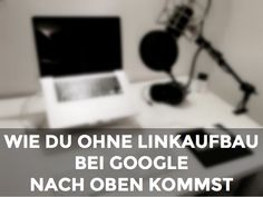 Willst du bei Google mit für dich wichtigen Suchbegriffen und deiner Website auf der ersten Seite der Suchergebnisse stehen? Natürlich willst du das, alle wol
