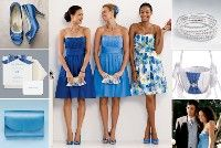 Cornflower Blue Bridesmaid Ideas
