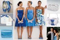 Cornflower Blue Bridesmaid Ideas
