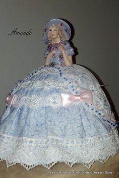 Porcelian Half Doll by leesvintagetreasures, $155.00