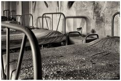 """It's bedtime, children!"" by Vincent-Jansen.nl, via Flickr (Abandoned orphanage in Italy)"