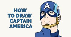 How to Draw Captain America in a Few Easy Steps | Easy Drawing Guides