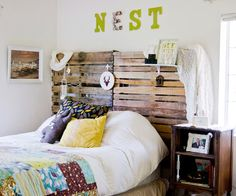 Some fun salvage and DIY projects in this blog post from Young House Love