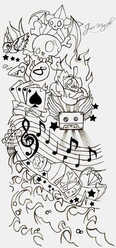 New School Tattoo Stencils - Bing images