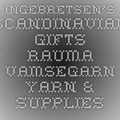 Ingebretsen's Scandinavian Gifts - Rauma Vamsegarn - YARN & SUPPLIES - KNITTING