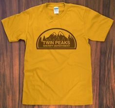 Twin Peaks Sheriff Department t-shirt on Etsy — $10