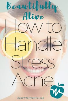 Many adults suffer from stress acne breakouts. Fortunately, there are plenty of effective ways to prevent it and even eliminate pimples. How To Stop Stress, How To Handle Stress, Chin Acne Causes, Acne Breakout, Hormonal Acne, Acne Remedies, Acne Skin