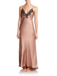 La Perla - Maison Silk Long Gown. HR · ropa interior 4e8d8695a163