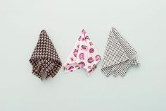How to Make a Pocket Square + 3 Ways to Fold It via Brit + Co.