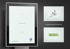 Impactful Volkswagen ad 'don't smartphone and drive' #SmartphoneAds