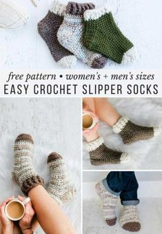 Easy Crochet Slipper
