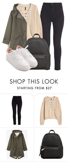 """""""Outfit #1957"""" by lauraandrade98 on Polyvore featuring moda, Levi's, H&M y MANGO"""