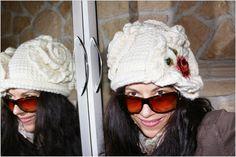 uncinetto moda e fantasia:   cappellino in lana