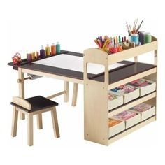 I so want this for my kids! Powell Monster 4-Drawer Dresser