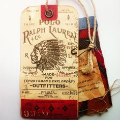 Image result for vintage ralph lauren design label