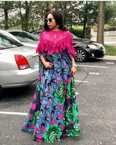 African Dresses Styles 2019 : Beautiful Styles You Should Rock Latest African Fashion Dresses, African Dresses For Women, African Print Dresses, African Print Fashion, African Attire, African Wear, Modern African Dresses, African Style, Ankara Gown Styles