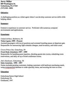 in post this time we will give a example about sample of director of ticket agent resume example that will give you ideas and provide a reference for your