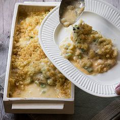 Chicken Breasts with Cheese and Spring Onions