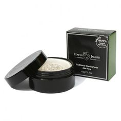 Edwin Jagger Natural shaving soap in tub - Sandalwood. Sandalwood: Ideal for normal skin. Uses rare, precious essential oil fragrance. A sensuous woody aroma. Shaving Brush, Shaving Soap, Edwin Jagger, Shaving & Grooming, Mineral Oil, Aloe Vera, Fragrance, Container, Normal Skin