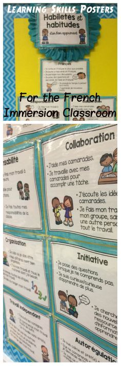 Primary & Junior Grades! Six learning skills in line with the Ontario curriculum + oral French. Four style sets to choose from, each with fourteen cards.