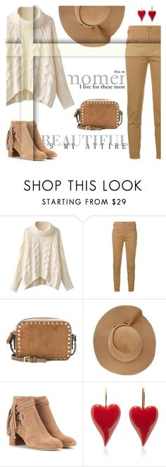 """Autumn"" by lesnoyelv ❤ liked on Polyvore featuring Dondup, Valentino, Eugenia Kim and rag & bone"