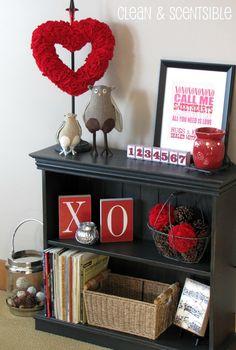 Clean & Scentsible: Felt Valentine's Decor