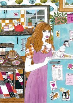 Illustration : Laura Callaghan dessine des girls, des vraies