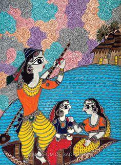 Krishna by Bharti Dayal