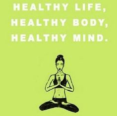 Healthy life, healthy body, healthy mind pictures, photos, and Healthy Mind, Get Healthy, Healthy Exercise, Easy Weight Loss, Healthy Weight Loss, Lose Weight, Fitness Quotes, Fitness Motivation, Motivation Quotes