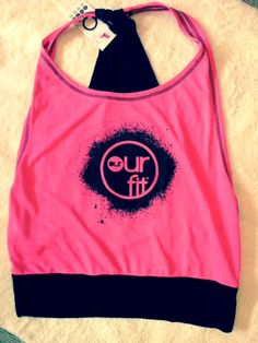 Our Fit Fluro Pink Top
