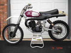 Nostalgia - 1976 Husqvarna 360 trail bike - ridden with Archer in Auburn, CA