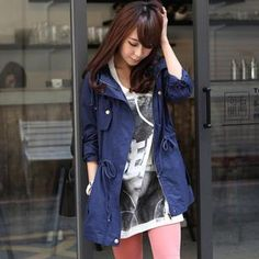 Buy 'LULUS � Drawstring-Waist Hooded Parka' with Free International Shipping at YesStyle.com. Browse and shop for thousands of Asian fashion items from Taiwan and more!