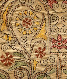 Kantha is still the most popular form of embroidery practised by rural women