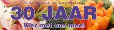 #30jaar groentewinkel Jan Leegwater