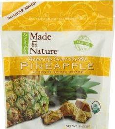 Made in nature organic dried & unsulfured Pineapple