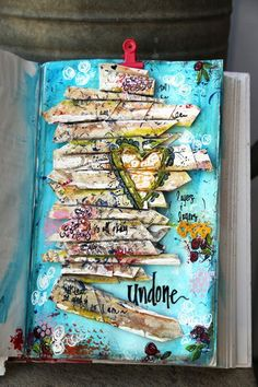 Mixed-media art by Junelle Jacobson