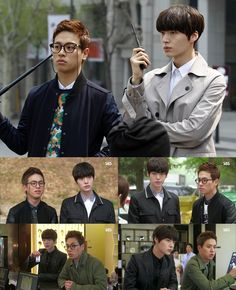 """""""You're All Surrounded"""" Actor Park Jung Min Talks about Bromance and the Acting Style of Co-Star Ahn Jae Hyun Cha Seung Won, Lee Seung Gi, Korean Dramas, Korean Actors, You're All Surrounded, Ahn Jae Hyun, Drama Fever, Figure Drawings, Police Detective"""