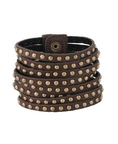 Studded Leatherette Cuff - Accessories - Jewelry - 1000020452 - Forever21 - StyleSays