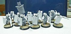 Ottawa Gamer: Imperial Guard Grenadier Vets WIP