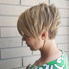 Side Swept and Undercut Pixie