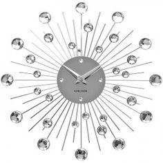 Horloge design Karlsson - Horloge murale - Décoration design #décoration #maison