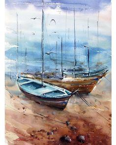 "590 Likes, 52 Comments - Watercolor Painter.علی گلباز (@ali_golbaz) on Instagram: ""#watercolorartist #watercoloriranian #suluboya #paint #sketch #drawing #آبرنگ #نقاشی #طراحی"""
