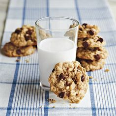 "A delicious (and healthier) alternative to your typical chocolate chip cookies! ""Gluten-Free Cookies For Kids"""