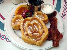 Disney Recipes   Make your own Mickey Mouse Waffles - I really believe the secret is the Carbon's Golden Malted Flour!  Need to try this recipe to be sure!