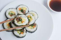 Diah Didi's Kitchen: Gimbap aka Kimbap, Sushi ala Korea