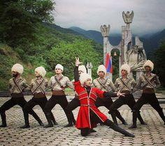 Armenian men in village dress. From the village of Alur ...
