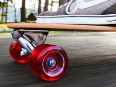 Longboard Skateboards by Grow Anthology