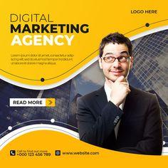 Minimal Graphic Design, Graphic Design Flyer, Graphic Design Trends, Graphic Design Templates, Flyer Design, Social Media Poster, Social Media Banner, Marketing Flyers, Digital Marketing